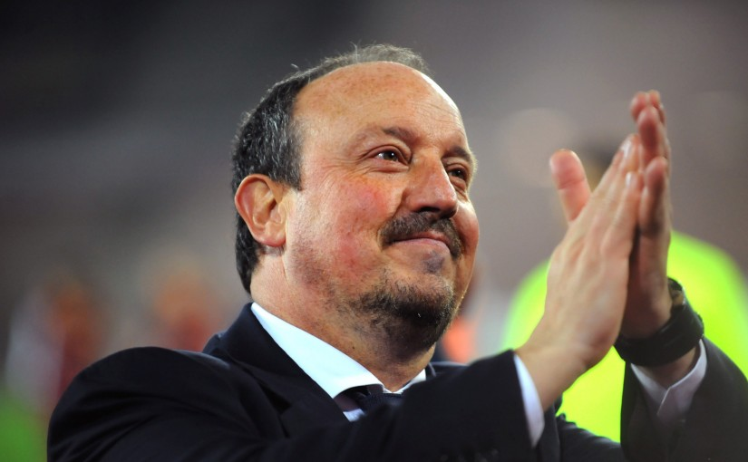 Cara Kecil Benitez Kejar Ketinggalan 2 Gol dari Liverpool
