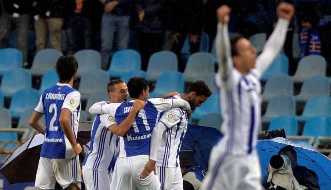 Dua Penalti Real Sociedad Bungkam Atletico Madrid