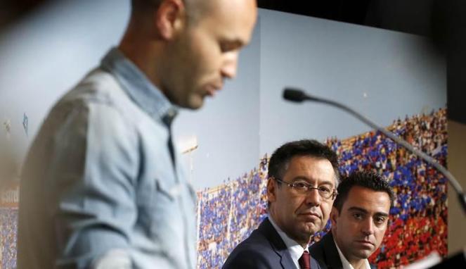 Iniesta: Apa Pun yang Terjadi, Barca adalah Rumah Saya