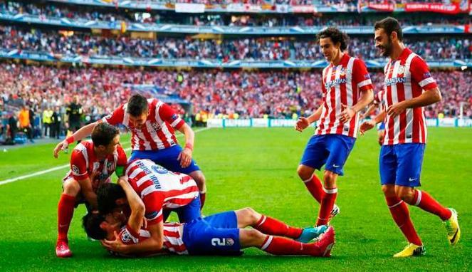Posisi Atletico Makin Terancam di Liga Champions