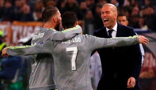Cerita Zidane Pernah Jadi Rekan Setim Sergio Ramos