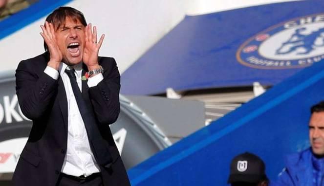 Conte 'Keukeuh' Chelsea Tak Bermain Buruk di Awal Musim