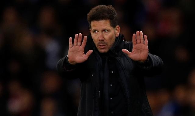 Simeone: Saya Tak Pikirkan Gap dengan Barcelona Maupun Valencia
